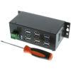 USBG-12U3ML-USB3 12-Port Hub Size Comparison