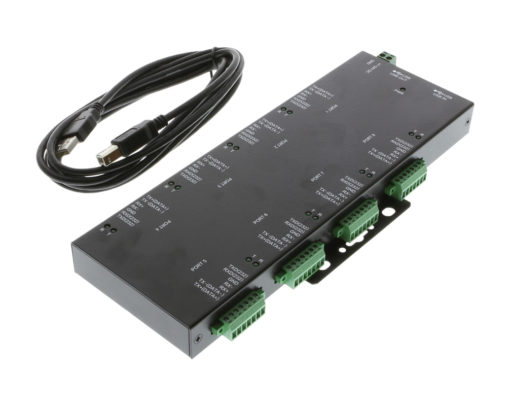 SA-8PXTB 8 Port RS232 to USB Adapter Package