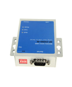 Industrial 1 Port DB9 RS-232/422/485 Serial over RJ45 Device Server