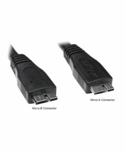 USB 3.0 Micro-A and B Labeled