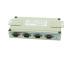 USB2-4COM-SI-M Serial Adapter DIN-Rail Mounting Brackets