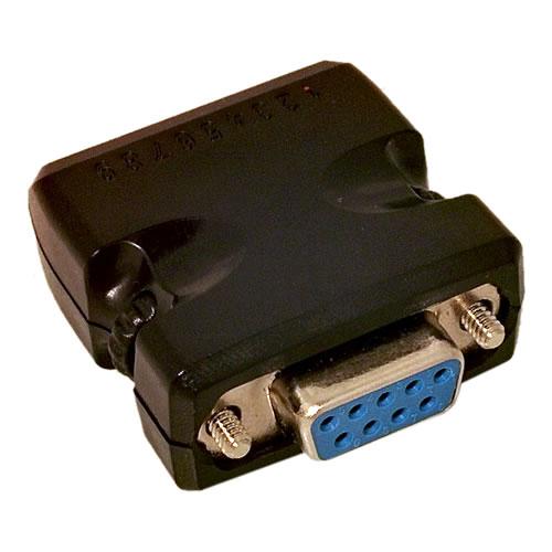 DB9 Female 9-Pin to Terminal Block Adapter