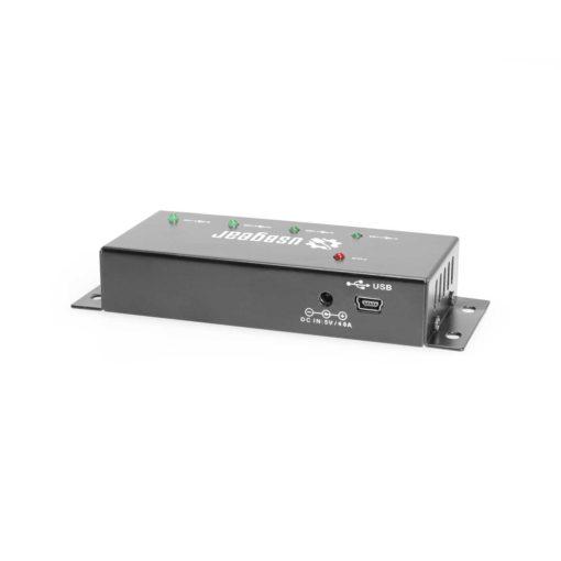 4 Port USB 2.0 Mini High-Power Hub w/ Port Status LEDs USB 2.0 Mini Hub