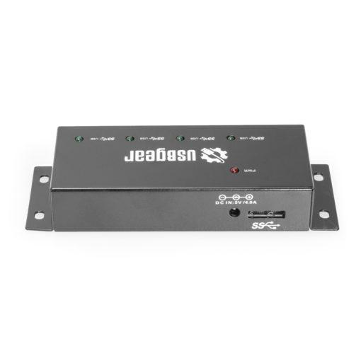 4 Port USB 3.2 Gen 1 Mini High-Power Hub w/ Port Status LEDs USB 3.0 Mini Hub