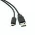 CM-U2CMAM-1M Connectors Closeup USB-A-to-C-Type