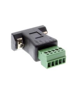 US-485TBP DB9 to Terminal Block RS485