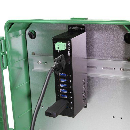 7 Port USB 3.2 Gen 1 Hub w/ Surge Protection #1 Main Listing