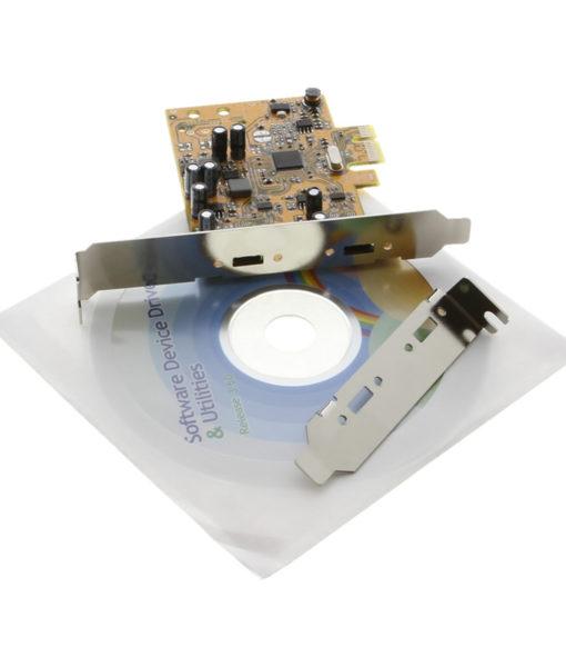 CG-2PTCX1PCIe USB-C 2 port PCIe Card Package