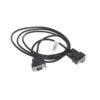 CAB-18999 Null Modem Cable Black