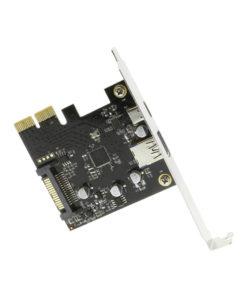USB 3.1 PCIe X2 Host Controller Card