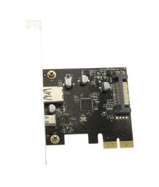 CG-PCIe31-AC USB 3.1 PCIe Card Components Image