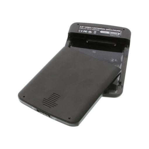 """USB 3.1 2.5"""" SATA Enclosure Open Case"""