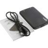 USB-31SA25MB USB 3.1 SATA 2.5″ HDD Enclosure Pkg image