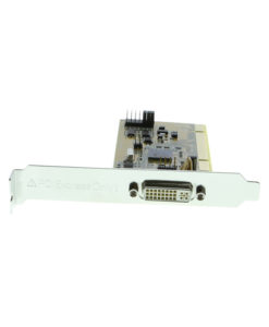 PCI to PCIe host card DVI connector