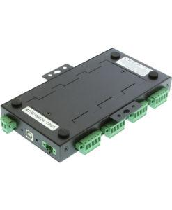 USB2-8comi-TB serial adapter DIN rail mounting