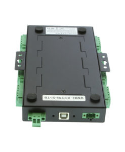 USB2-8COMi-SI-TB serial adapter DIN rail mounting