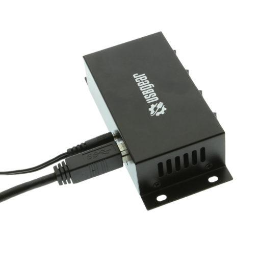 USB 3 Hub – Metal Switchable 4 Port Surface Mount Hub