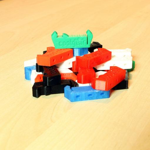 CoolGear Din Rail Clips - 3D Printed