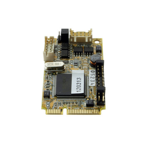 Mini PCIe card for serial applications