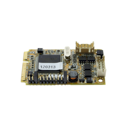 Mini PCIe 2 Port RS422/RS485 Card
