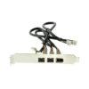 IEEE 1394B mini PCIe card bracket