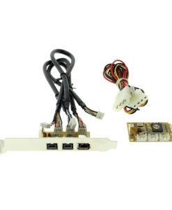 IEEE 1394B Mini PCIe card kit