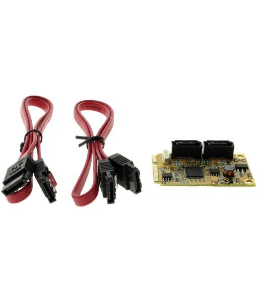 SATA3 Mini PCIe RAID Card package