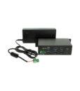 7 port USB-C hub with power adapter