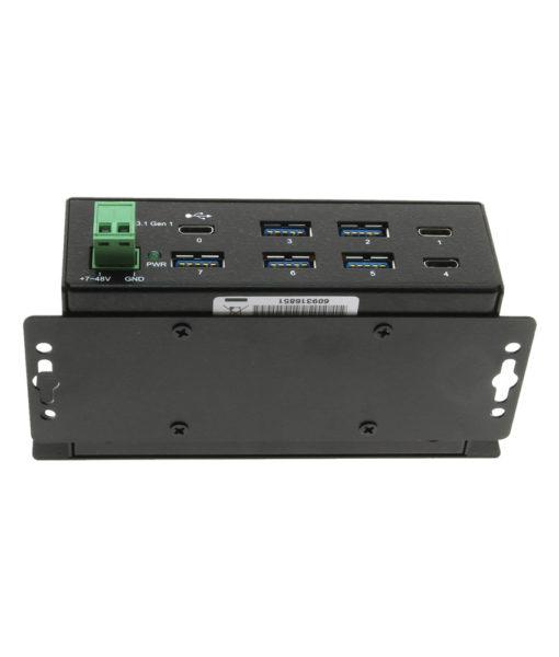 USB-C hub mounting bracket