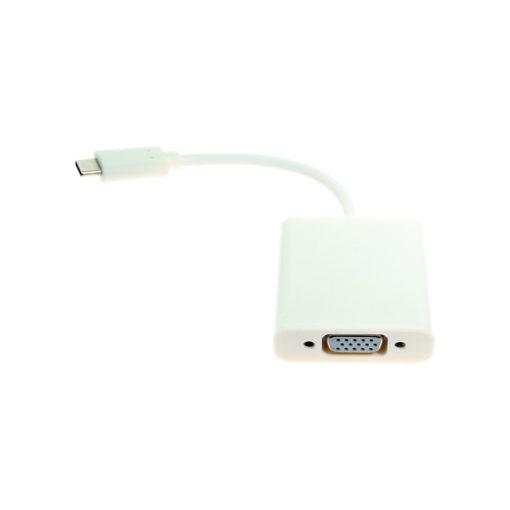 USB C to Female VGA with Screw Lock