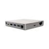 RJ45 Gigabit Ethernet Port Connection on USB C Docking Station