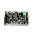 USB 3.1 4 Port Hub Black circuit board image