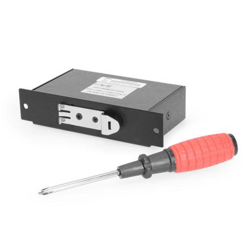USB 3.1 4 Port Metal Hub w/DIN Rail Clip & ESD Surge Protection