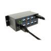 16-Port USB 3.1 Metal Hub with Cable