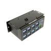 16-Port USB 3.1 Metal Hub Horizontal Mounting Plate