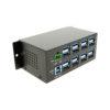16-Port USB 3.1 Metal Hub Heat Distribution