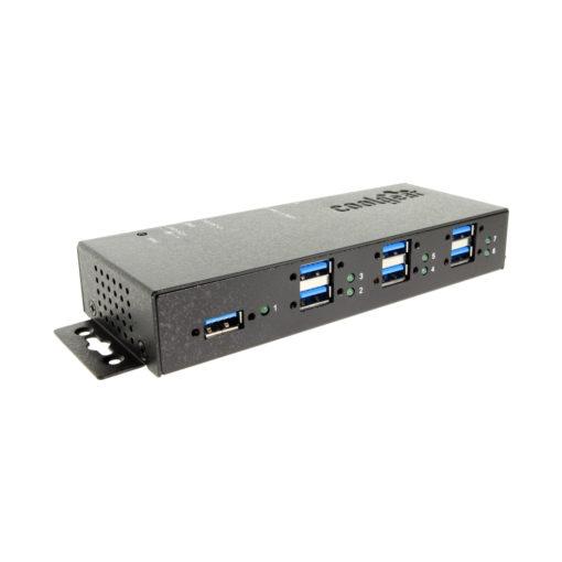 7 Port USB 3 Surge Pro Ports