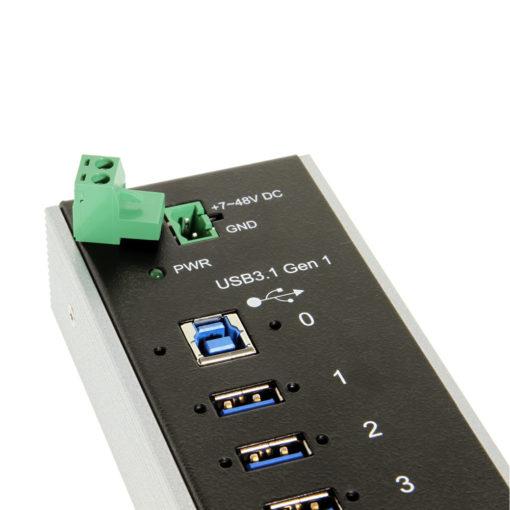 +7 to 48V DC self power input