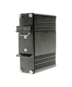 DIN Rail Clip Mountable Type-C PoE Splitter