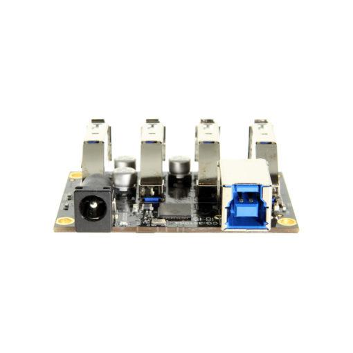 USB 3.1 Hub Component Board USB Type-B Port and 5V DC Jack Input
