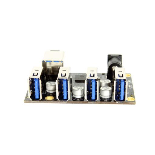 USB 3.1 Mini 4 Port Hub Component PCBA with ESD & Surge Protection