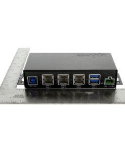USB 3.1 8 Port Dual Type Hub Size