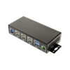 USB 3.1 Dual Type-8 Port Hub with 2-wire Terminal Plug