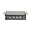 USB 3.1 8 Port Hub Mounting Brackets