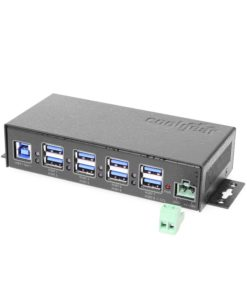 USB 3.1 Type-A 7 Port USB Hub + 1 Dedicated Charging Port w/ESD Protection