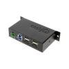 4 Por USB Type-C USB Metal Hub Mounting Flange