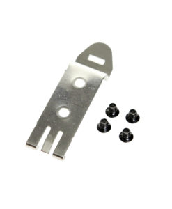 Din Rail Clip with 3 Prong Catch for Din Rail Mounting