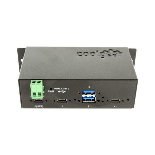 Metal 4 port USB 3.1 hub