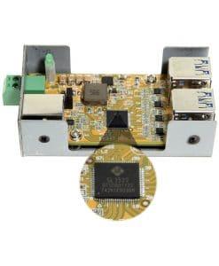 USB 3.1 4 Port Variable Voltage Micro Hub Circuit