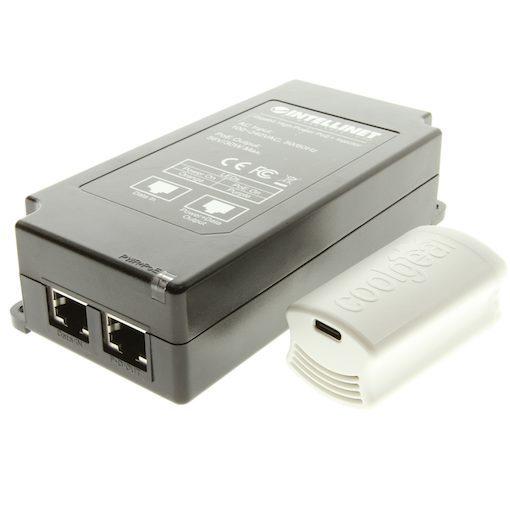 Mini Nest Cam IQ PoE PRO Install Kit usb c side